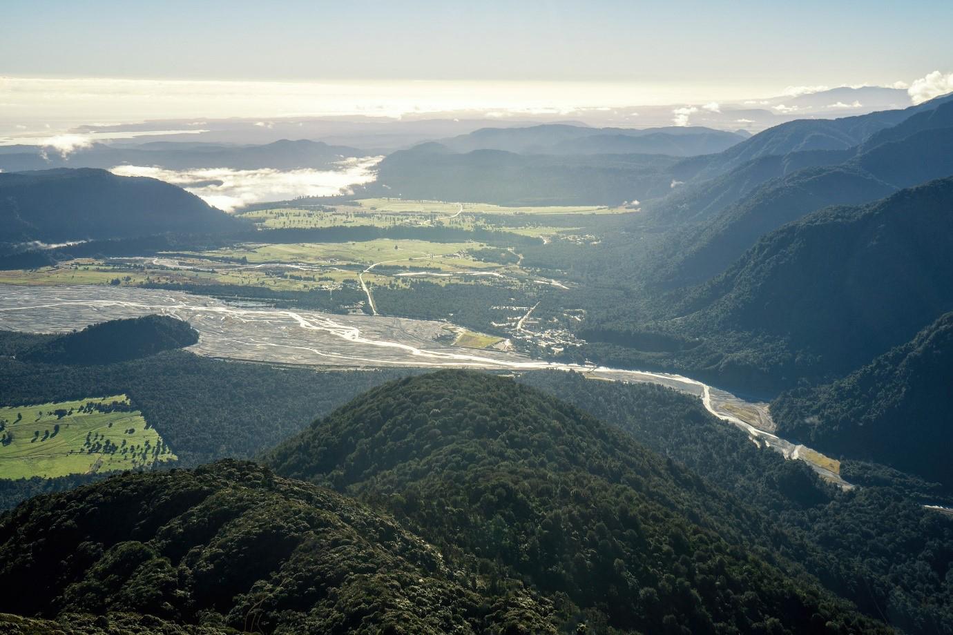 Waiho river, Franz Josef glacier
