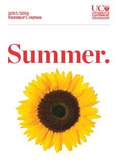 UC's Summer school – enrolments open today