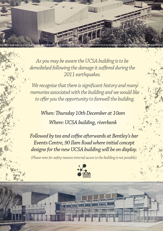 UCSA invite