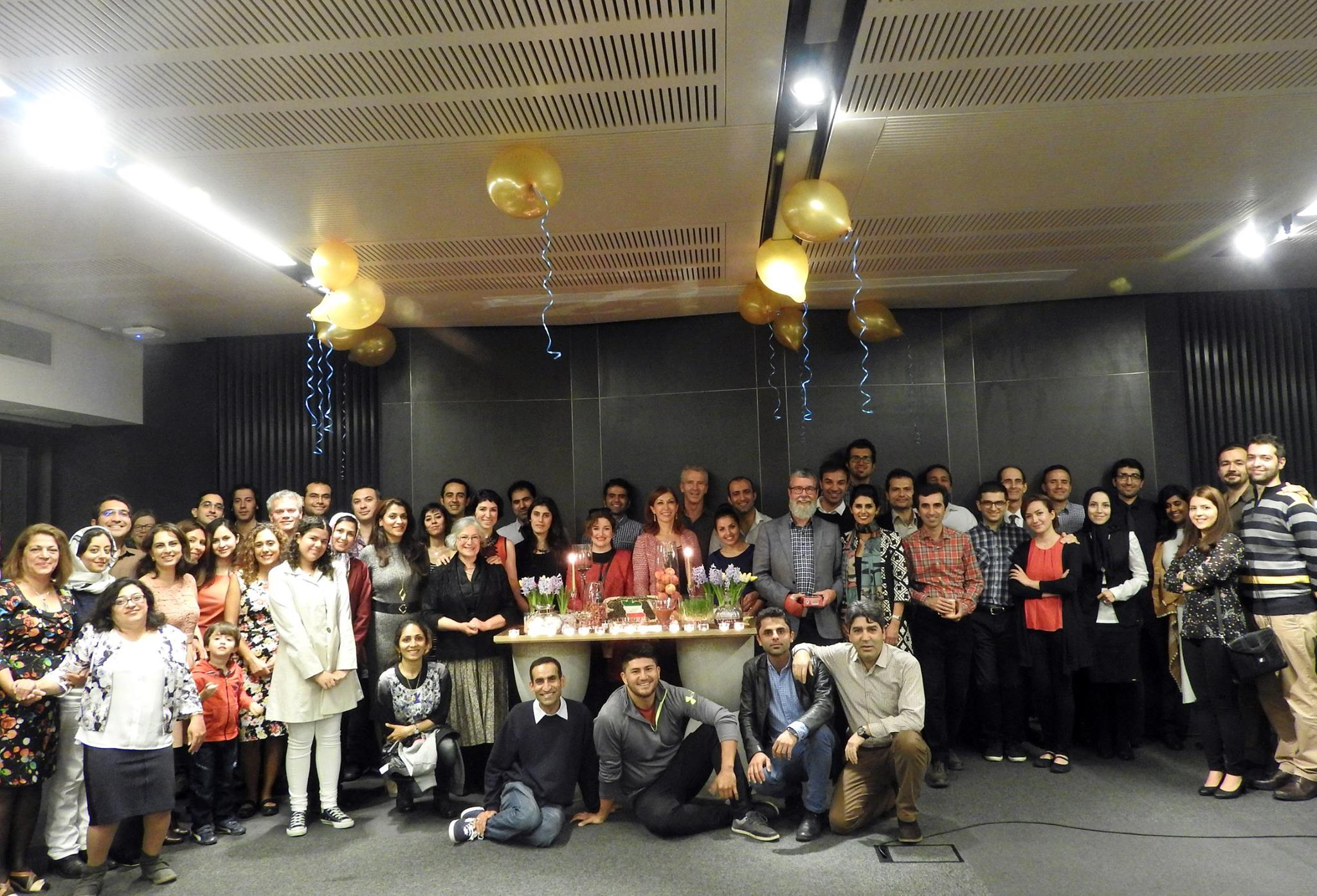 Photo: Morteza Saadatpourvahid About 30 PhD students were joined by friends and family members to celebrate  Nowruz at the University of Canterbury