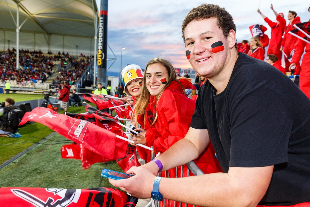 Crusaders ticket offer for UC staff, family and friends