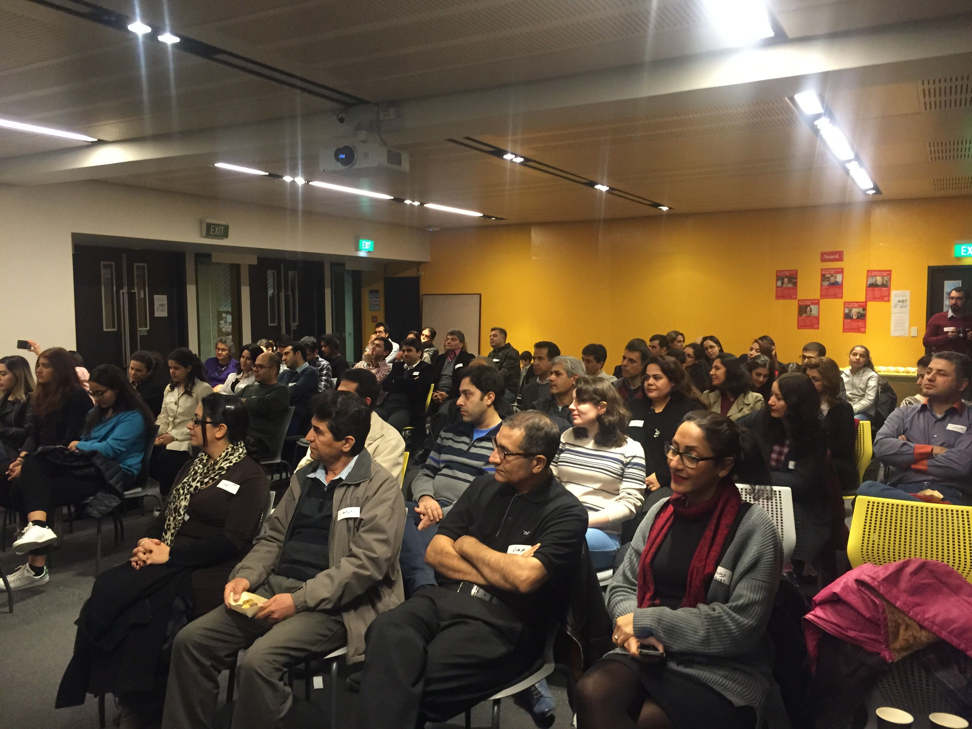 Close to 70 people attended the traditional Iranian Yalda Night celebration at the University of Canterbury