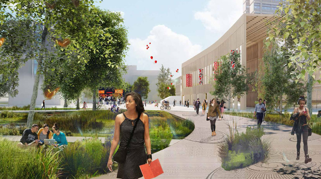 campus master plan released