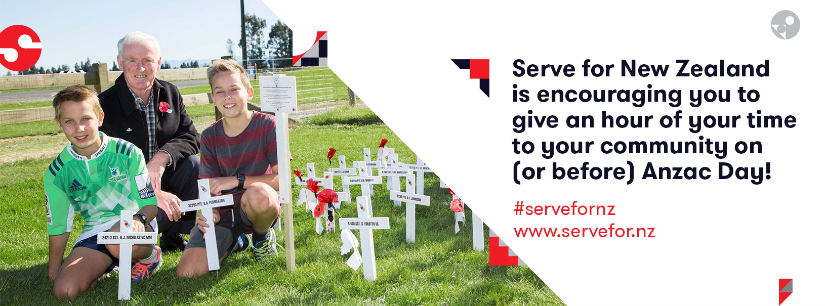 Get involved in Serve for New Zealand