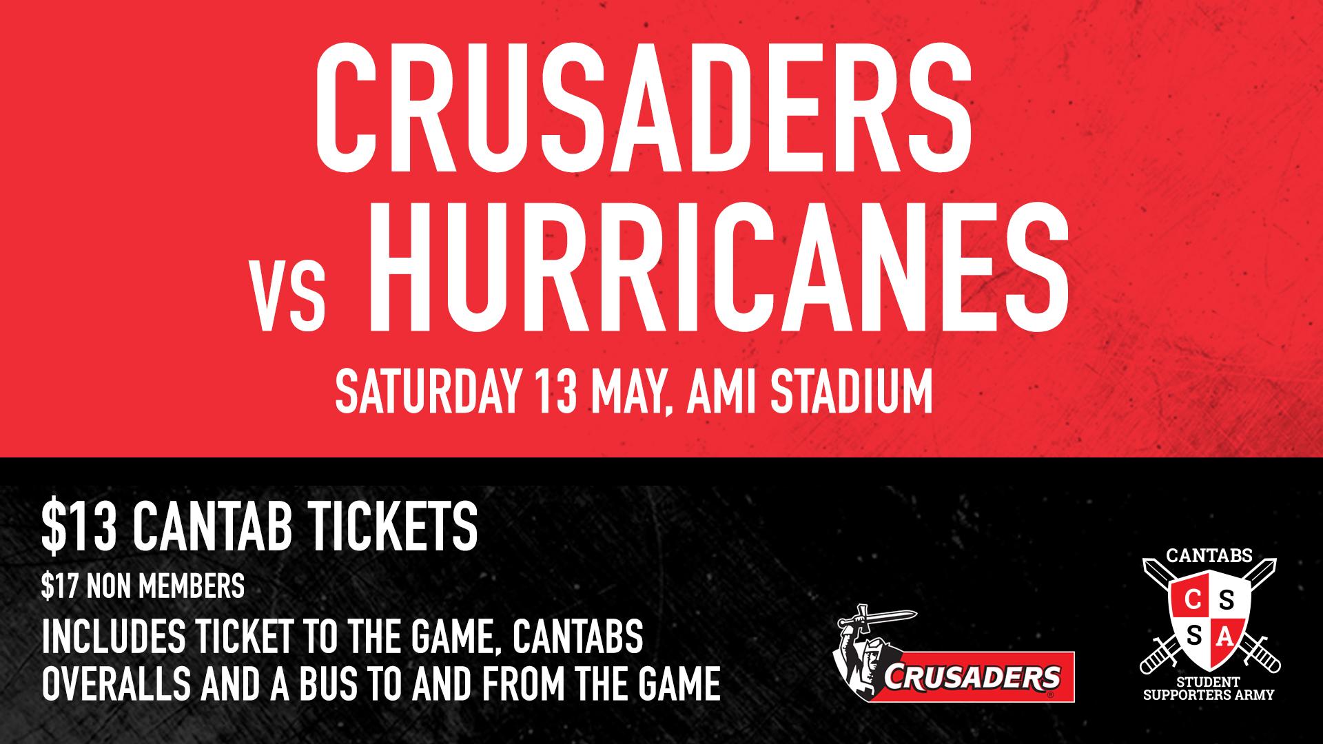 Crusaders vs Hurricanes alumni pre-match event