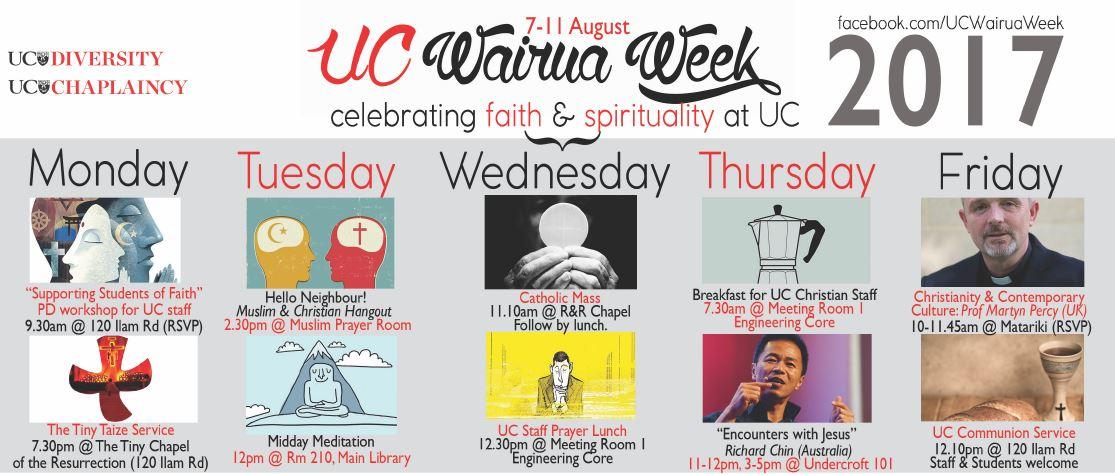 170803 - Wairua Week programme