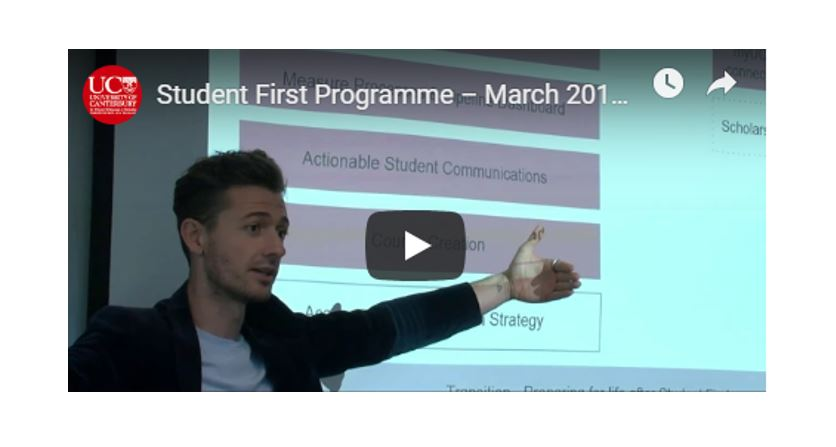 Student First Programme Momentum Continues in 2019