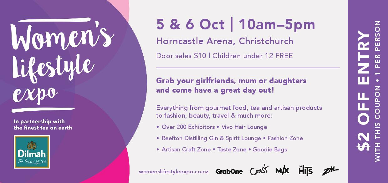 $2 discount coupon for ChCh Women's Lifestyle Expo