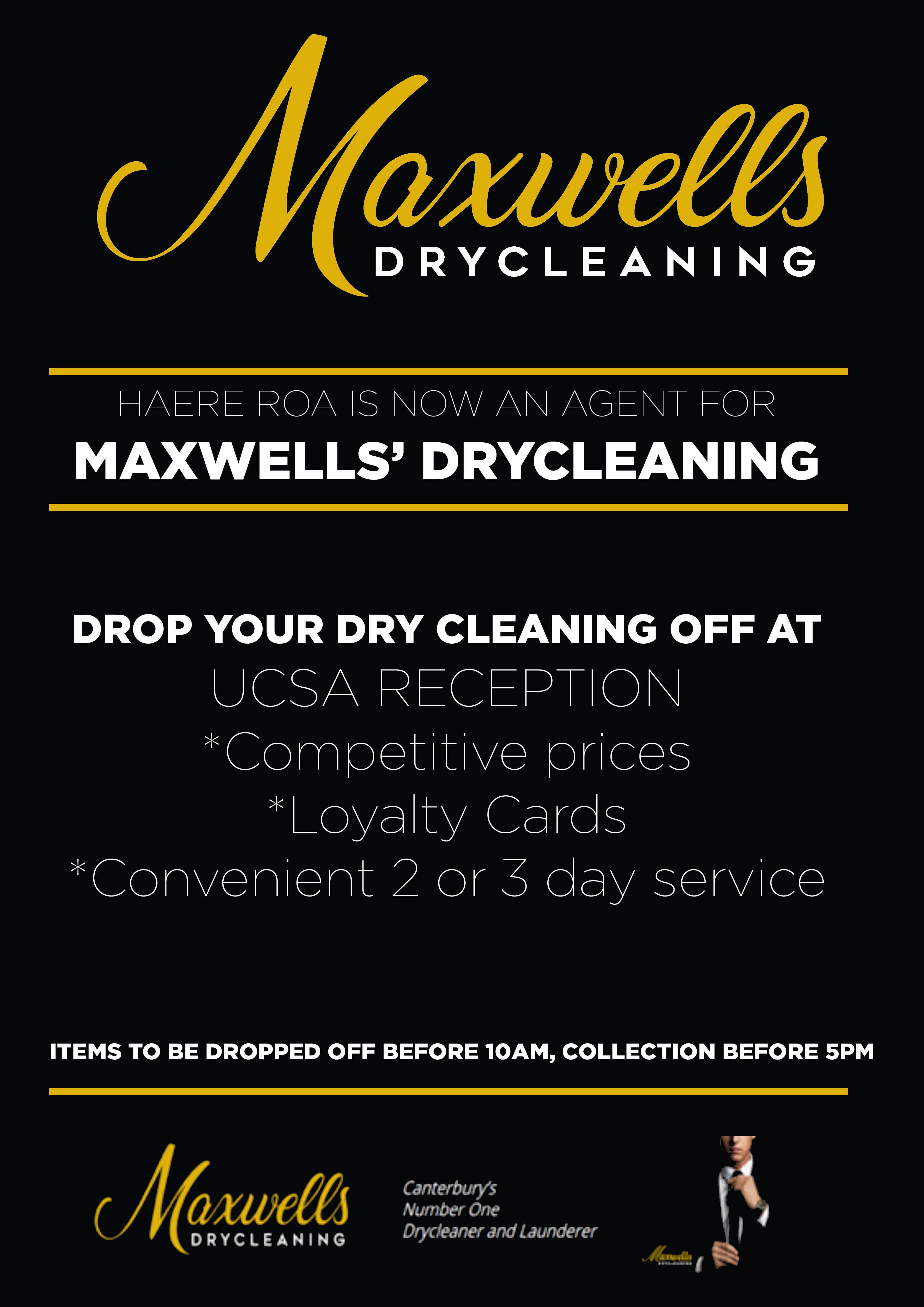 Maxwell's dry cleaning