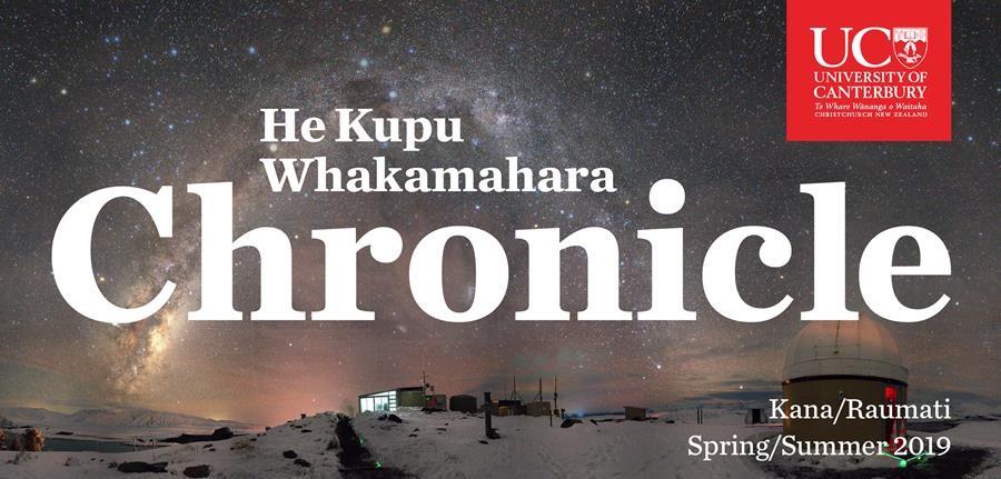 He Kupu Whakamahara | Chronicle Spring/Summer 2019