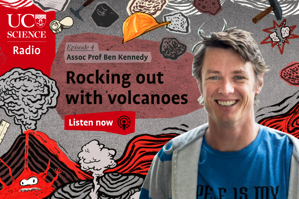 Rocking out with volcanoes