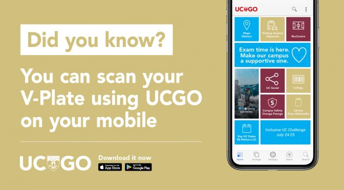 Did you know that you can access the RecCentre Timetables quickly using UCGO?