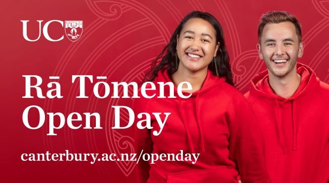A message from our VC: Volunteer for Rā Tomene | Open Day