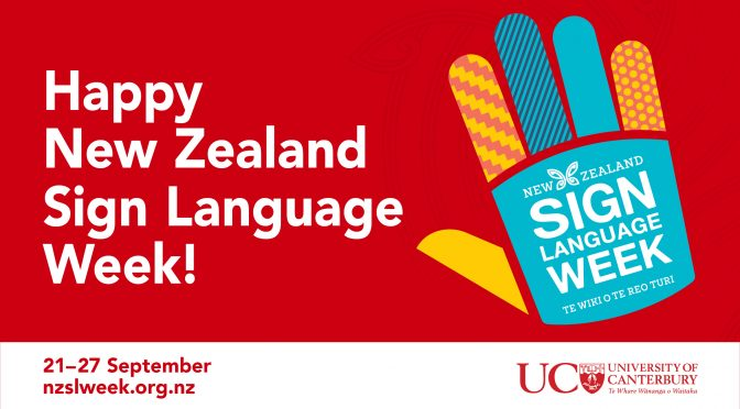 Celebrate New Zealand Sign Language Week