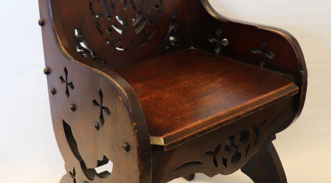When is a chair more than a chair?