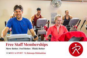 Free UC Staff Memberships