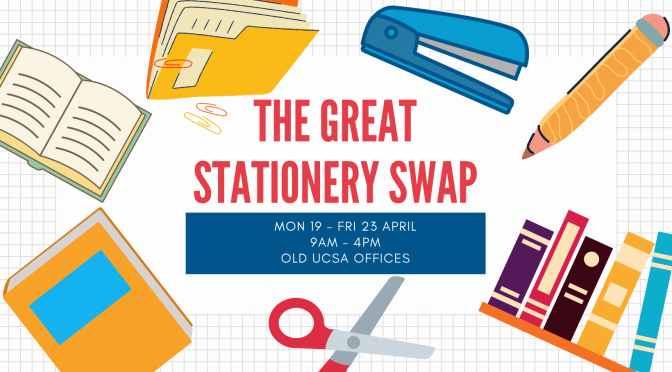 Clear your desks: the Great Stationery Swap is coming!