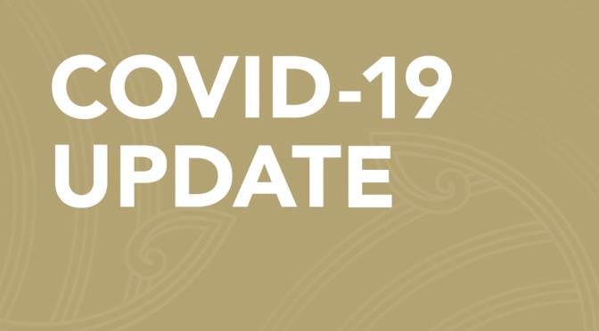 Covid-19 | Teaching next week at Alert Level 4
