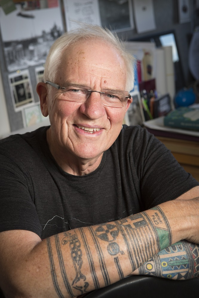Poet Jeffrey Paparoa Holman