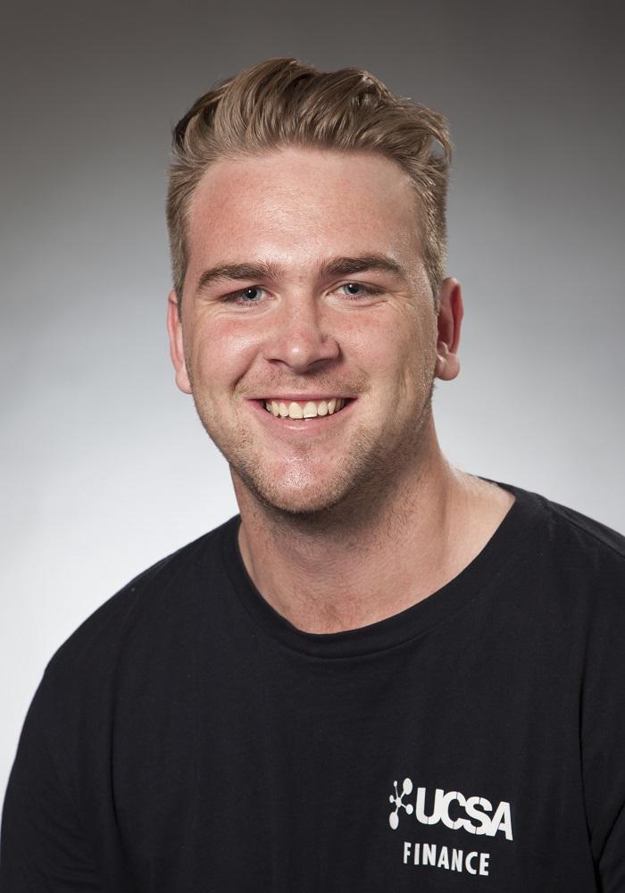 Josh Proctor, UCSA President, Economics/Finance, 25.9.17